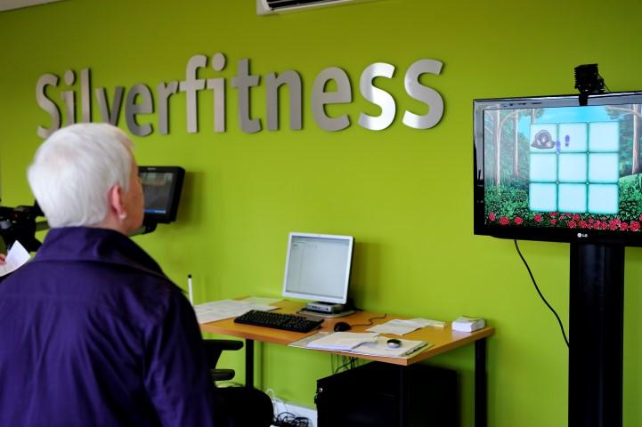 Oefenzaal SilverFitness De Eglantier in Roosendaal, 2011.