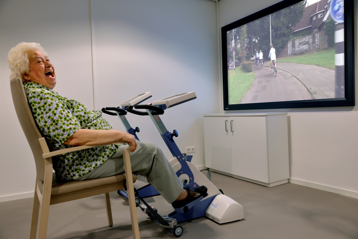 Virtual cycling - SilverFit