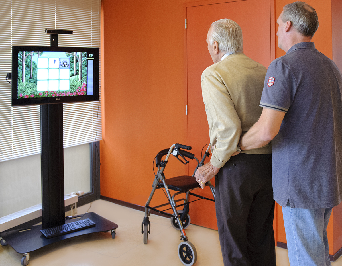 SilverFit 3D reduces number of falls